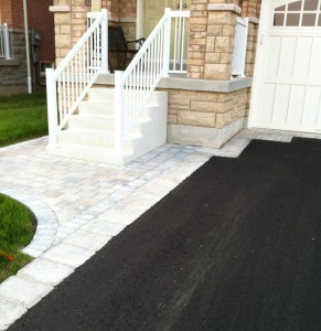 Driveway paving and Interlocking walkway