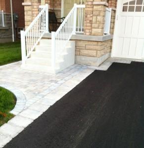 Driveway paving and Interlocking walkway
